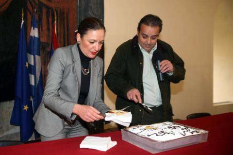 στη φωτο ο δήμαρχος Π.Αναγνωσταράς :eurokinissi-Βασίλης Παπαδόπουλος