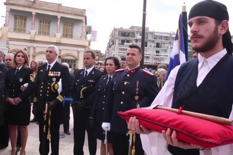 ArgolidaPortal.gr Άργος-Δοξολογία και κατάθεση στεφάνων επέτειος 25ης Μαρτίου