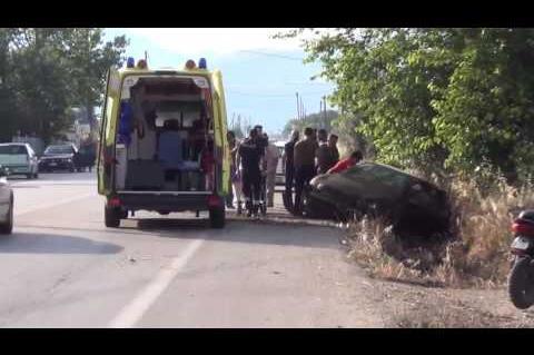 ArgolidaPortal.gr ΑΡΓΟΣ-Εκτροπή αυτοκινήτου με τρεις τραυματίες στη Ν.Κίο