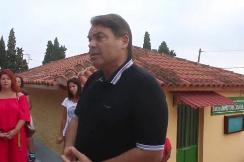 ArgolidaPortal.gr Μύλοι Αργολίδας-Αγιασμός στο «κλειστό» από το υπουργείο δημοτικό σχολείο Μύλων