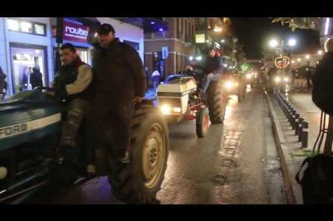 ArgolidaPortal.gr ΑΡΓΟΣ-Συλλαλητήριο αγροτών στο κέντρο του Άργους