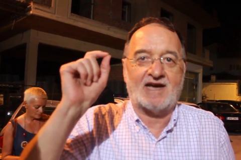 ArgolidaPortal.gr Άργος-Ο Λαφαζάνης στο πλευρό των συλληφθέντων ενάντια στους πλειστηριασμούς