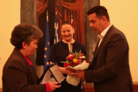 ArgolidaPortal.gr Ο Δήμος Ναυπλιέων τίμησε την γυναίκα στο πρόσωπο της Άλκηστης Παπαδημητρίου