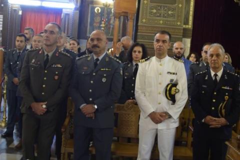 ArgolidaPortal.gr  Ναύπλιο εορτασμός «Ημέρα της Αστυνομίας» ο προστάτης του Σώματος Άγιος Αρτέμιος
