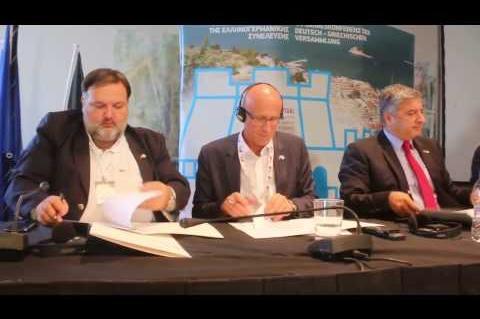 ArgolidaPortal.gr Ναύπλιο:Ελληνογερμανική Συνέλευση-Υπογραφή Κοινής Διακήρυξης