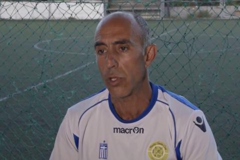 ArgolidaPortal.gr Τρύφωνας Μποζιονέλος για το 2ο σεμινάριο προπονητών ποδοσφαίρου στην Αργολίδα