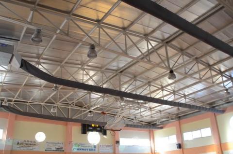 ArgolidaPortal.gr Το κλειστό γυμναστήριο Νέας Κίου απέκτησε κλιματισμό