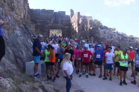 ArgolidaPortal.gr Βίντεο  Μυκήνες 10ος Αρχαίος Μυκηναϊκός Δρόμος