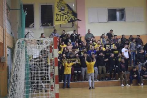 ArgolidaPortal.gr Χάντμπολ Διομήδης - ΑΕΚ 22-22