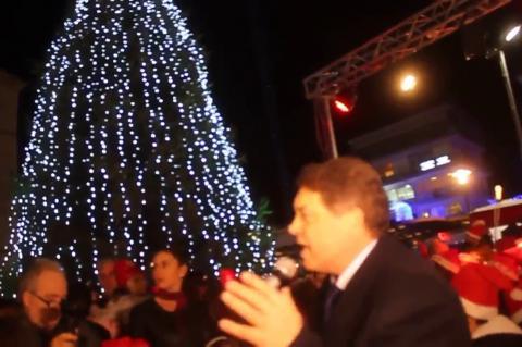 ArgolidaPortal.gr Άργος Άναψε το Χριστουγεννιάτικο δέντρο 08122017