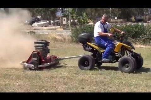 ArgolidaPortal.gr Νέα Κίος-Δύο μηχανήματα περιποίησης πρασίνου στο Δήμο Άργους Μυκηνών