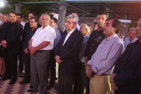 ArgolidaPortal.gr ΑΡΓΟΣ-Εγκαίνια νέα πλατεία στις Λίμνες-Δήμαρχος Καμπόσος