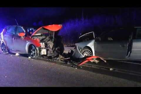 ArgolidaPortal.gr Κορινθία - Τροχαίο ατύχημα με τρεις τραυματίες στα Δερβενάκια