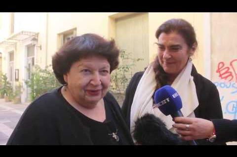 ArgolidaPortal.gr Ναύπλιο:Η Υπουργός Πολιτισμού Λ. Κονιόρδου στο Πελοποννησιακό Λαογραφικό Ίδρυμα