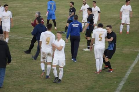 ArgolidaPortal.gr Επεισόδια στον αγώνα Κυπέλλου Αργοναύτης - Κορωνίδα Κοιλάδας 1-3