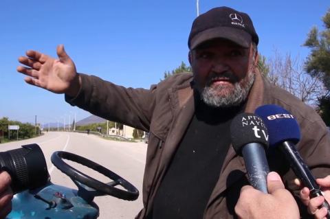ArgolidaPortal.gr Αργολίδα - Διαμαρτυρία αγροτών και αποκλεισμός της Ναυπλίου - Μυκηνών