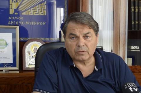 ArgolidaPortal.gr Άργος- Ο Δήμαρχος Δημήτρης Καμπόσος για τις φονικές πυρκαγιές στην Αττική