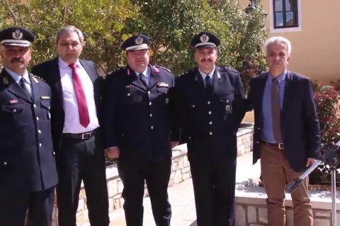 ArgolidaPortal.gr Λυγουριό - Τελετή αγιασμού του Αστυνομικού Τμήματος Επιδαύρου