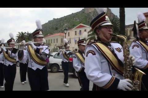 ArgolidaPortal.gr Ναύπλιο-Η φιλαρμονική μπάντα του σχολείου West Bend