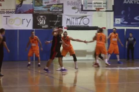 ArgolidaPortal.gr Μπάσκετ Γ Εθνικη  Οίαξ Ναυπλίου- Αχαγιά 75-74
