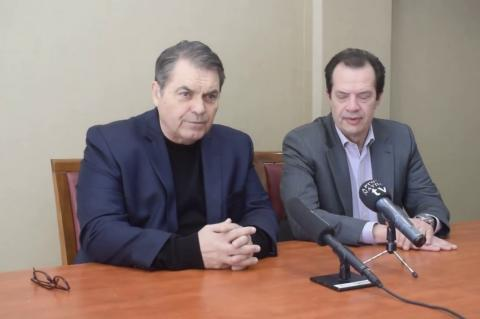 ArgolidaPortal.gr Άργος - Επίσκεψη του Γ.Γ. Υποδομών Γ. Δέδε στον Δήμαρχο Δ. Καμπόσο