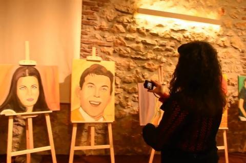 ArgolidaPortal.gr Άργος-«Σαν Παλιό Σινεμά» έκθεση ζωγραφικής της Ελισάβετ Δήμα Πετροπούλου