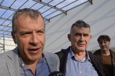 ArgolidaPortal.gr Ο Σταύρος Θεοδωράκης στην Αργολίδα