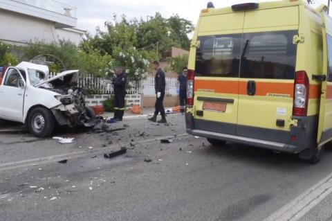 ArgolidaPortal.gr Τροχαίο δυστύχημα στα Φίχτια Αργολίδας
