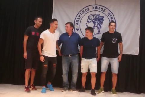 ArgolidaPortal.gr Κιβέρι-παρουσίαση ομάδα Ερμής κιβερίου 2017-18