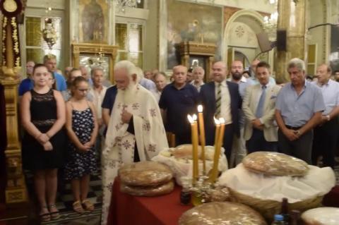 ArgolidaPortal.gr Άργος- Την αποκεφάλιση του Αγίου Ιωάννου του Προδρόμου τίμησε το Άργος