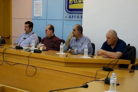 ArgolidaPortal.gr Ναύπλιο- Συνάντηση Νίκα με φορείς της Αργολίδας