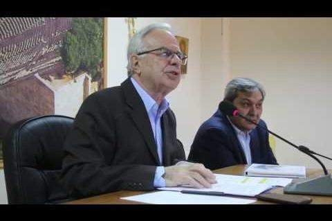 ArgolidaPortal.gr Επίδαυρος ο Υπουργός Αγροτικής Ανάπτυξης Βαγγέλης Αποστόλου