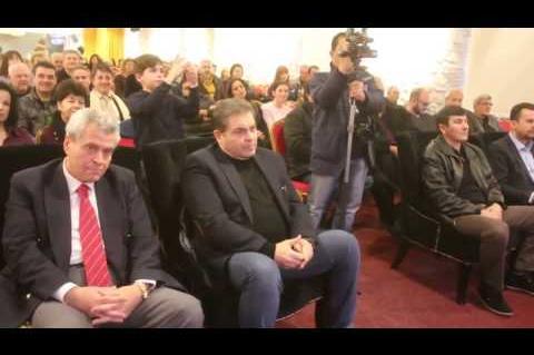 ArgolidaPortal.gr ΑΡΓΟΣ-Ο Δήμαρχος Άργους -Μυκηνών Δ.Καμπόσος έκοψε την πίτα του Δήμου