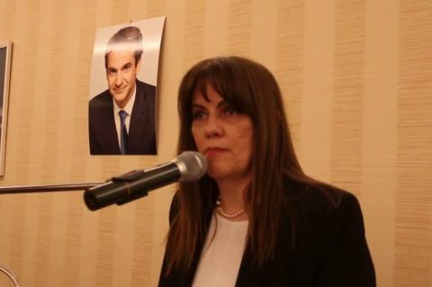 ArgolidaPortal.gr Ναύπλιο-Ομιλία της Ελένης Παναγιωτοπούλου στη κοπή πίτας της ΔΗΜΤΟ της ΝΔ