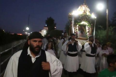 ArgolidaPortal.gr Εορτασμός της Αγίας Κυριάκης στο Κουτσοπόδι