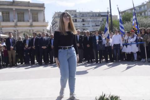 ArgolidaPortal.gr Άργος - Οι μαθητές τίμησαν την επέτειο της 25ης Μαρτίου