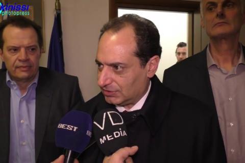ArgolidaPortal.gr Ναύπλιο -Χειβιδόπουλος συνάντηση με τον υπουργό Μεταφορών Χρ.Σπίρτζη