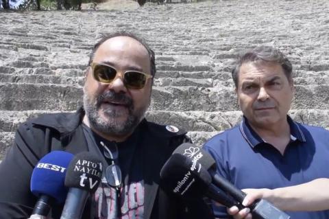 ArgolidaPortal.gr Καμπόσος -Ρήγας Εκκλησιάζουσες Αρχαίο Θέατρο Άργους