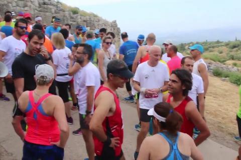 ArgolidaPortal.gr Μυκήνες- Εκκίνηση 13ος Αργειακός Μυκηναϊκός Δρόμος  2108