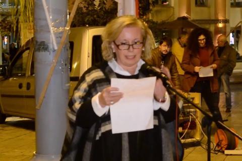 ArgolidaPortal.gr Ναύπλιο-Συγκέντρωση για την 44η επέτειο του Πολυτεχνείου