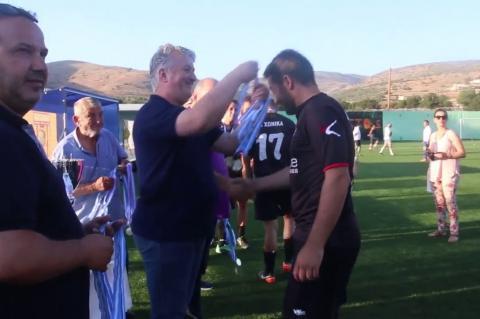 ArgolidaPortal.gr ΕΠΣ Αργολίδας Απονομές κυπέλλων ΑΕΚ Άργους και ΑΟ Χώνικα