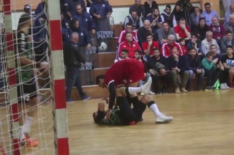 ArgolidaPortal.gr Χάντμπολ: Διομήδης-Ολυμπιακός 24-25 ένταση στο τέλος του αγώνα