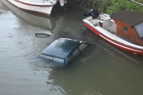 ArgolidaPortal.gr Νέα Κίος - Αυτοκίνητο έπεσε στον Ερασίνο ποταμό