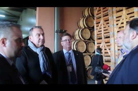 ArgolidaPortal.gr Επισκέψεις του γερμανού υφυπουργού Φούχτελ σε επιχειρήσεις της Αργολίδας