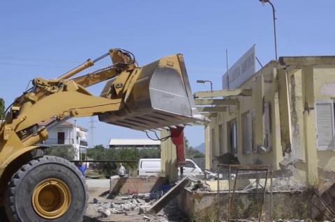 ArgolidaPortal.gr ΄Αργος - Ξεκίνησαν τα έργα για την ανέγερση του Κλειστού Κολυμβητηρίου