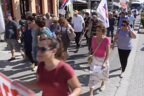 ArgolidaPortal.gr Απεργία και συγκέντρωση στο Άργος