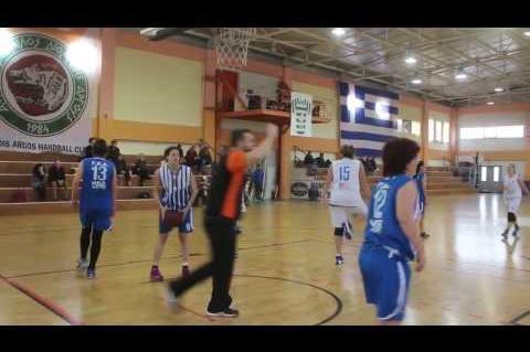 ArgolidaPortal.gr Μπάσκετ γυναικών:Αργοναύτης-ΓΕΑ 53-42 Πρωτάθλημα Α΄ΕΣΚΑΚ