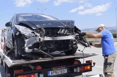 ArgolidaPortal.gr Ναύπλιο- Τροχαίο με τραυματίες στην Αγία Τριάδα