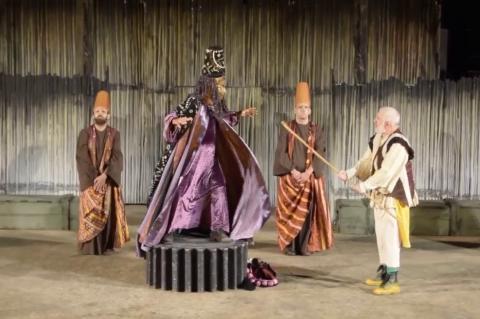 ArgolidaPortal.gr Οι Αχαρνής του Αριστοφάνη στο Αρχαίο Θέατρο Άργους
