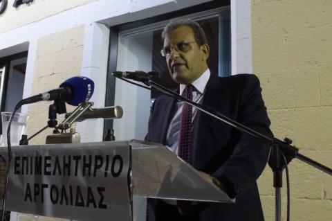 ArgolidaPortal.gr Κρανίδι - Ομιλία Φ. Δαμούλου στα εγκαίνια γραφείου του Επιμελητηρίου Αργολίδας